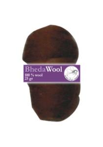 Bhedawol, 1x25 gram, donker bruin