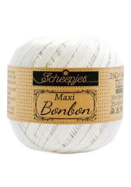 Scheepjes Maxi Bonbon Bridal White Kleurnummer 105