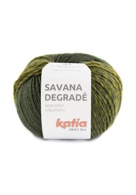 Savana Degradé Kleur 104 - Groen-Geelgroen-Grijs