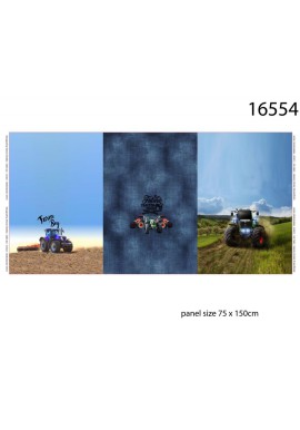 16545-12 Jersey Digital print French terry Panel 75 x150 cm