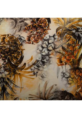 16990 Digi Pineapple Rayon Kleur 570