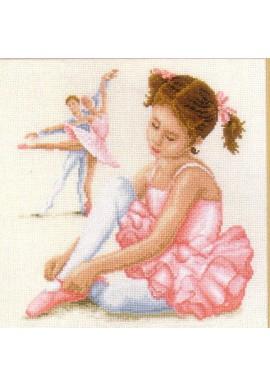 2002 / 29.083 Ballerina Telpakket 28x28cm