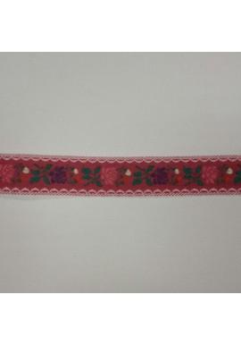 Bloemetjesband rood