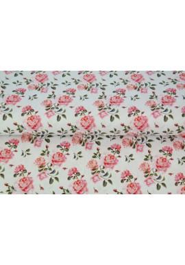 printed flower poplin