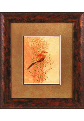 Lanarte 34719 Vogel in het riet Telstof 15 x 20cm