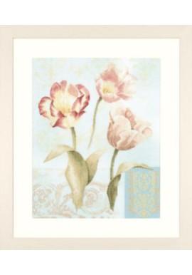 Lanarte 35006 Tulpen en ornamenten Telstof 39 x 49 cm