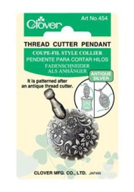 Clover Threadcutter Pendant silver