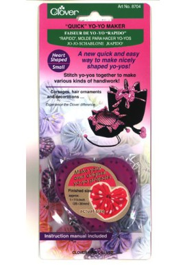Clover Quick Yo-Yo maker Heart Small
