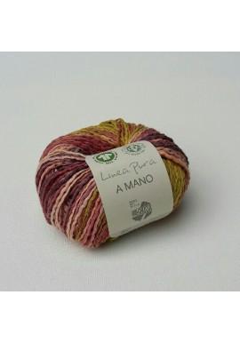 A Mano Kleur 10 Lachs/Violett/Grège/Senf/Dunkelbraun