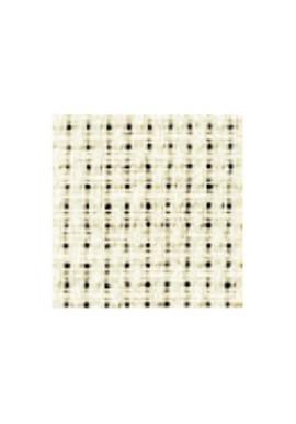 Aida 3 bosjes / cm gebroken wit 150 cm 100 %  katoen