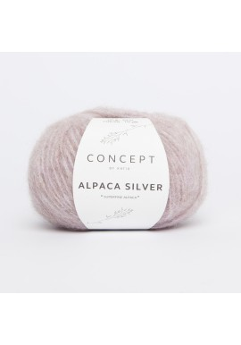 Alpaca Silver Kleurnummer 252 - Lichtroze-Zilver