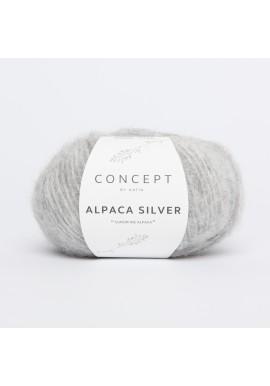 Alpaca Silver Kleurnummer 255 - Licht grijs-Zilver