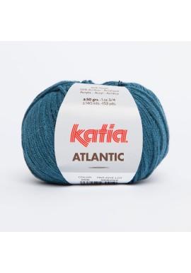Atlantic Kleurnummer 206 - Medium blauw-Zwart