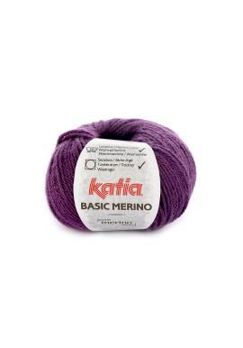 Basic Merino  Kleurnummer 28 - Donkerlila