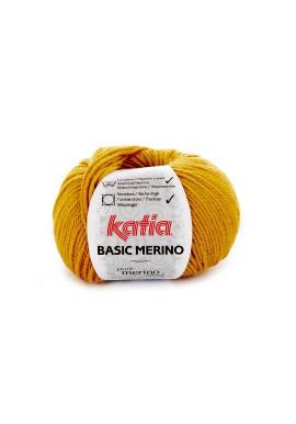 Basic Merino  Kleurnummer 41 - Mosterdgeel