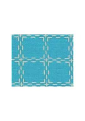 Beiersbont 5411 turquoise / ivoor 160 cm