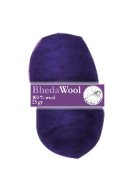 Bhedawol, 1x25 gram, blauwpaars