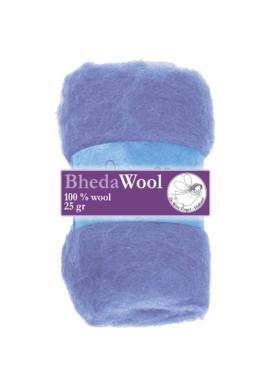 Bhedawol, 1x25 gram, heel lichtblauw