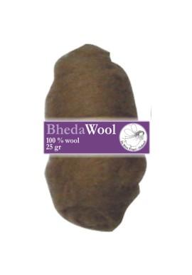 Bhedawol, 1x25 gram, lichtbruin