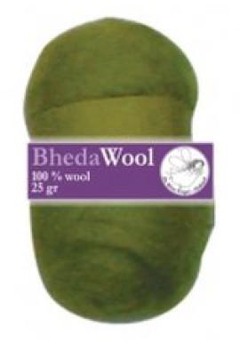 Bhedawol, 1x25 gram, olijfgroen