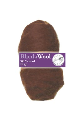 Bhedawol, 1x25 gram, roest bruin