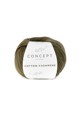 Cotton Cashmere Kleurnummer 71 - Kaki