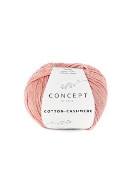 Cotton Cashmere Kleurnummer 72 - Zalmoranje