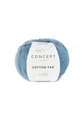 Cotton Yak Kleurnummer 124 - Licht blauw