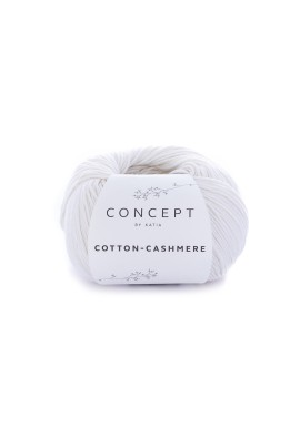 Cotton Cashmere Kleurnummer 52 - Wit