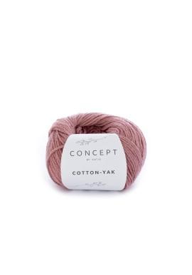 Cotton Yak Kleurnummer 109 - Koraal