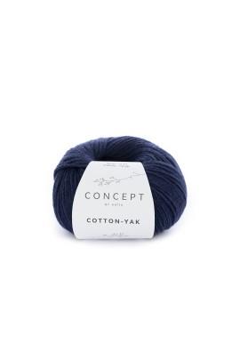Cotton Yak Kleurnummer 115 - Donker blauw