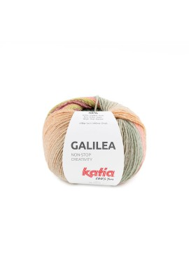 Galilea Kleurnummer 303 - Groen-Koraal-Camel