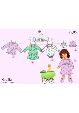 Supernova kids pattern Giullia