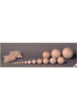 Beuken houten ballen met mooie gladde afwerking