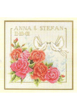 Lanarte 34742 Marriage Telstof 20x20cm