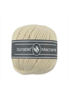 Durable Macramé 100 gram Kleur 2172 Creme