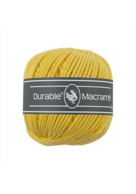 Durable Macramé 100 gram Kleur 2180 Mosterdgeel