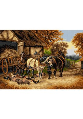Orchidea Canvas The Hay Cart 50x70cm