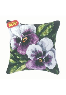 Orchidea kussenpakket Print 9244 w/p Flower  40 x 40cm