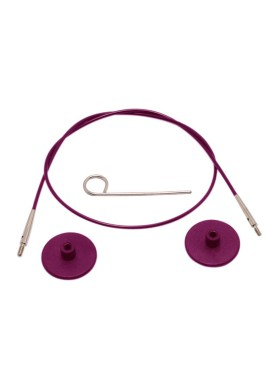 Knitpro Kabel 60cm purple