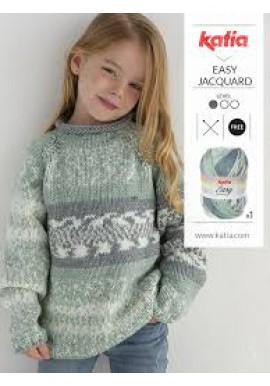 Easy Jacquard kinder trui