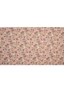 KC0330-013 Cotton Poplin Print Small Flowers Old Rose