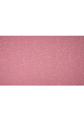 KC0384-014 Cotton Poplin Print Dots Old Rose