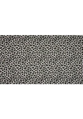 KC1363-027 Cotton / EA Jersey Print Leopard Ecru - Khaki
