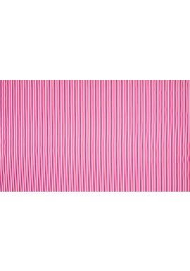 KC2802-521 100 % Cotton Print Stripe Fuchsia