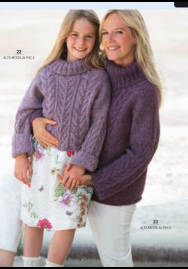 Stoere kindertrui van alta moda alpaca