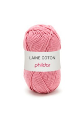 Laine Coton BOIS DE ROSE Kleurnummer 0016