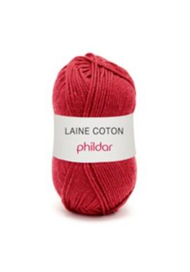 Laine Coton CERISE Kleurnummer 0013