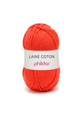 Laine Coton ECARLATE Kleurnummer 0014