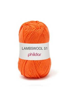 Lambswool ORANGE Kleurnummer 0028